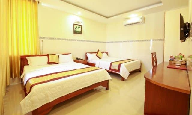 Phòng ngủ được thiết kế theo lối kiến trúc gia đình (ảnh ST)