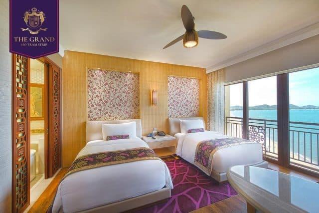 Phòng ngủ được trang bị đầy đủ tiện nghi (ảnh ST)