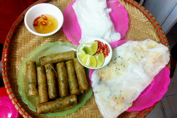 Ram bánh mướt - đặc sản Hà Tĩnh