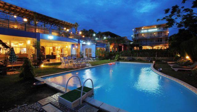 Toàn cảnh khu vực resort (ảnh ST)