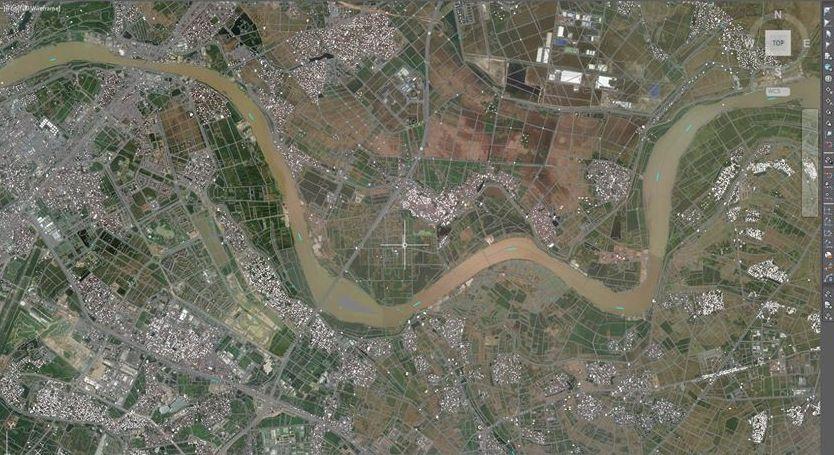 Bản đồ vệ tinh Hà Nội