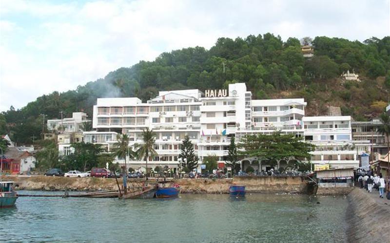 Khách sạn Hải Âu có tầm nhìn hướng biển rất đẹp (Ảnh ST)