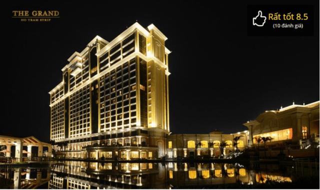 The Grand Hồ Tràm Strip Resort là một khu nghỉ dưỡng phức hợp sang trọng