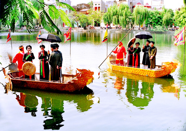 Dân ca Quan họ Bắc Ninh là nét đẹp truyền thống của hội Lim