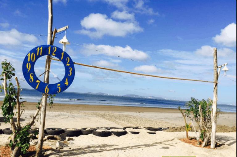 Biển An Bình trong xanh (ảnh ST)