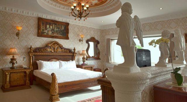 Phong cách thiết kế phòng ngủ của Lan Rừng resort & spa (ảnh ST)