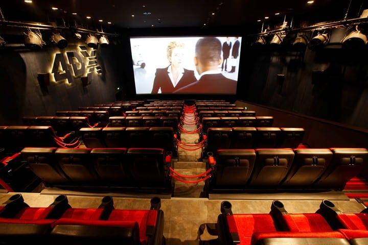 Ghế ngồi hiện đại tại rạp CGV Parkson Paragon