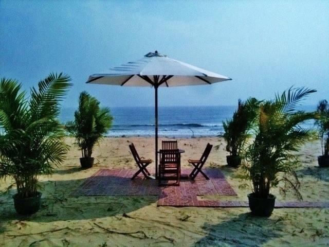 View đẹp tại Scandia Resort - khách sạn Tuy Hòa