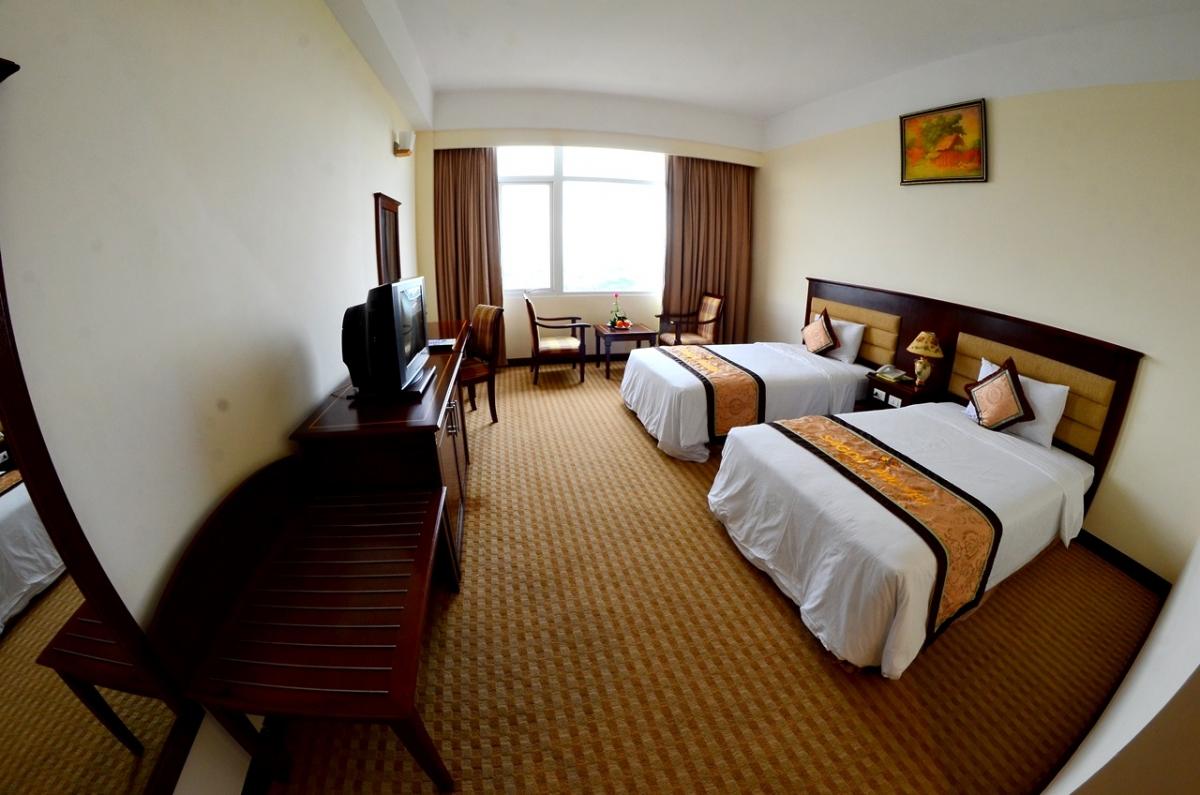 Phòng ngủ khách sạn Sài Gòn - Phú Yên - khách sạn Tuy Hòa
