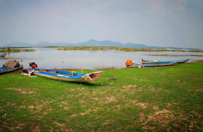 hồ Dầu Tiếng 4
