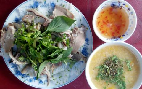 The cake asked the pork heart - Tuy Hoa specialty