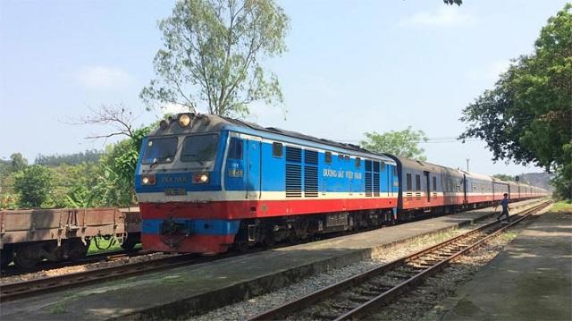 Tàu từ ga Hà Nội tới Quy Nhơn