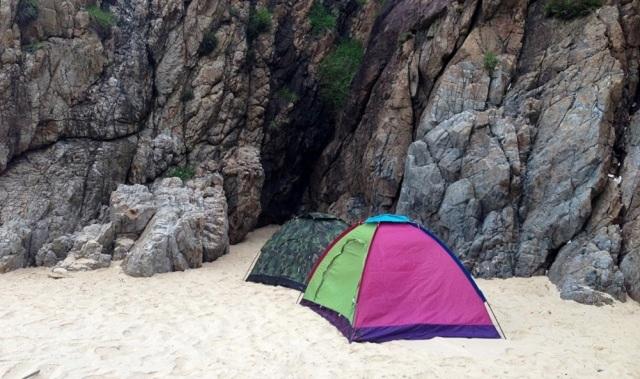 Cắm trại qua đêm ở Kỳ Co là một trải nghiệm vô cùng lý thú
