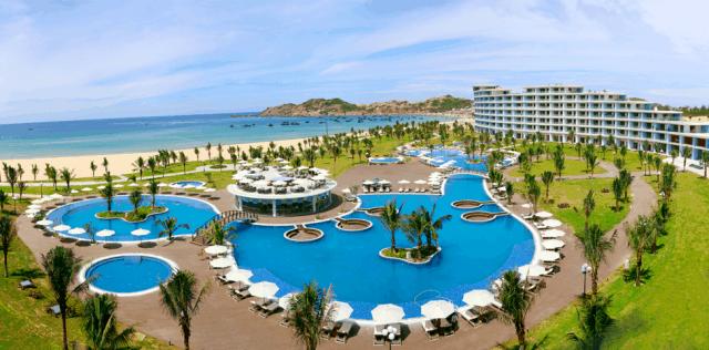 Toàn bộ không gian FLC Quy Nhon Luxury Hotel (Ảnh: Sưu tầm)