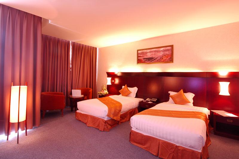 Phòng ngủ Dakruco hotel - khách sạn Buôn Mê Thuột