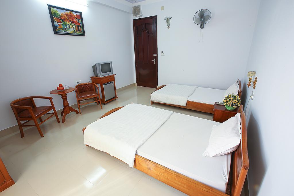 Phòng ngủ Bazan hotel- khách sạn Buôn Mê Thuột