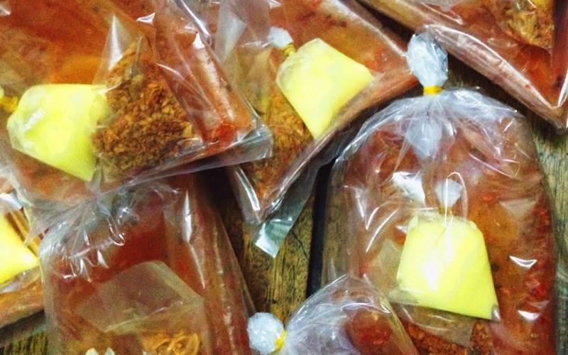 Bánh tráng bơ - chế biến bánh tráng tôm Tây Ninh