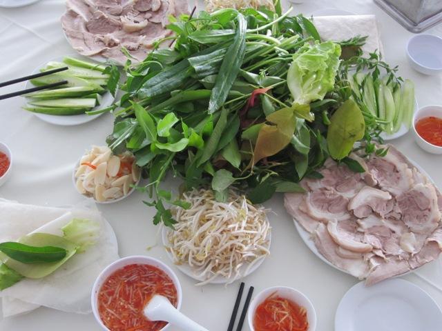 Bánh tráng phơi sương tại quán ăn ngon ở Tây Ninh