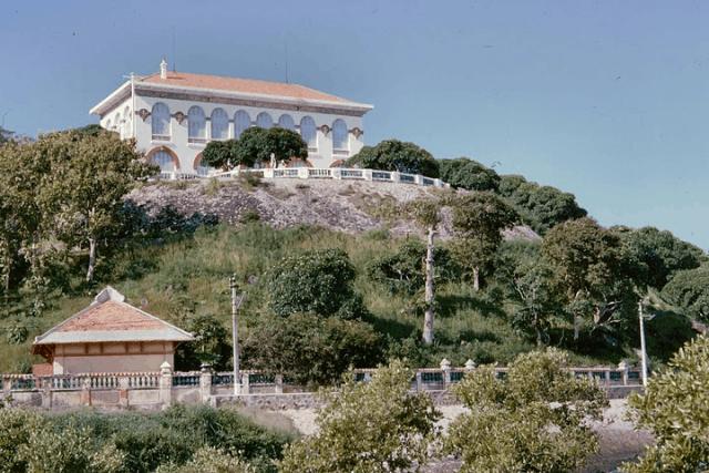 Tòa Bạch Dinh nổi tiếng ở Vũng Tàu (Ảnh ST)