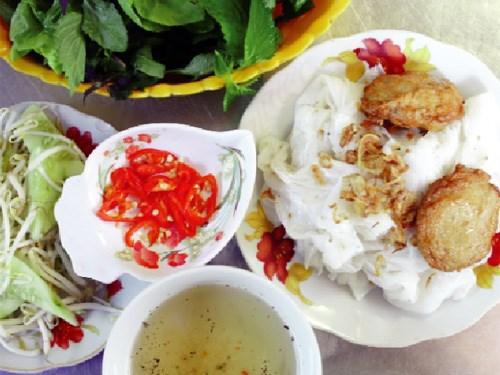 bánh cuốn - đặc sản Hải Dương