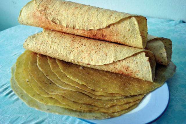 Bánh tráng khoai lang - bánh tráng Bình Định 2