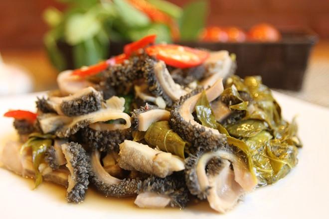 Lòng bò tơ - đặc sản Tây Ninh tại khách sạn Tây Ninh giá rẻ