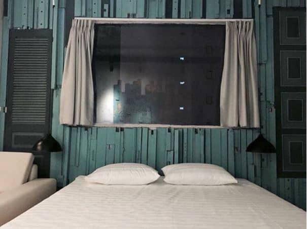 phòng ngủ tại The Laban