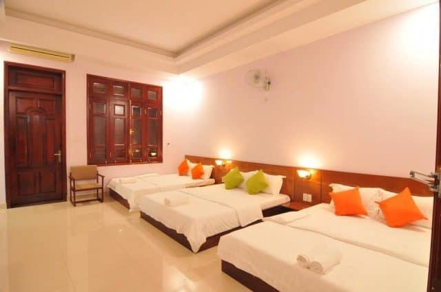 Một phòng ngủ có thể chứa từ 3 - 4 giường (ảnh ST)