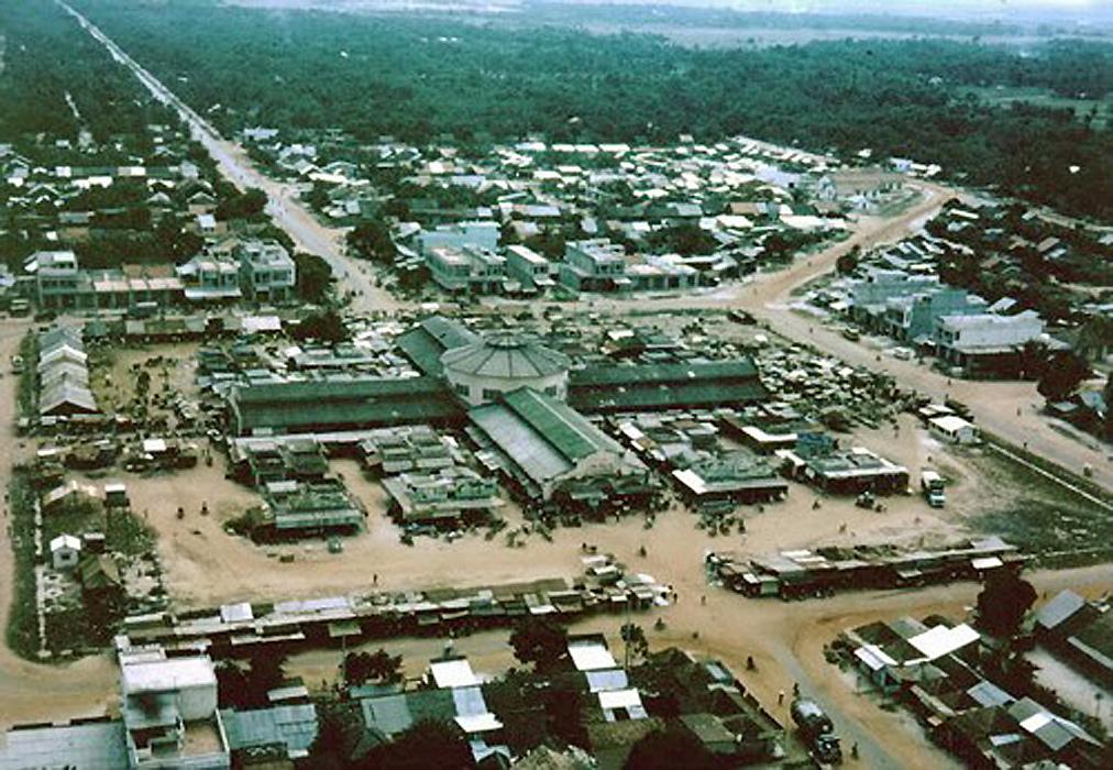 chợ Long Hoa Tây Ninh ngày xưa