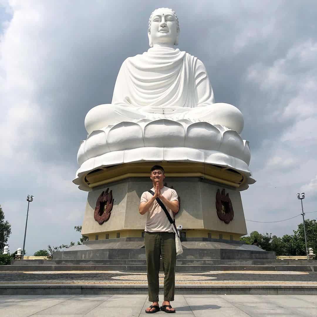 Kim thân Phật Tổ - niềm tự hào của thành phố Nha Trang. Ảnh: @andrew_kwon