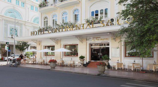 Hình ảnh khách sạn Continental Saigon (Ảnh sưu tầm)