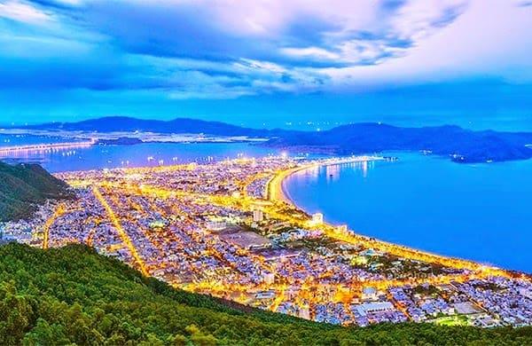 Sắc đẹp thành phố Quy nhơn