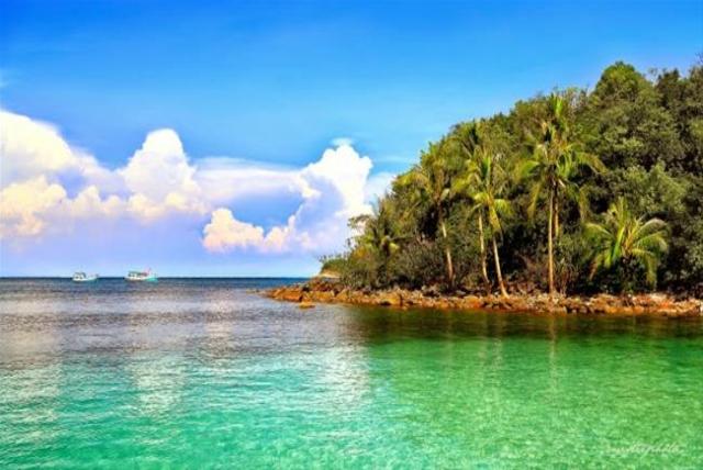 đảo Hòn Lớn - du lịch bụi Nam Du