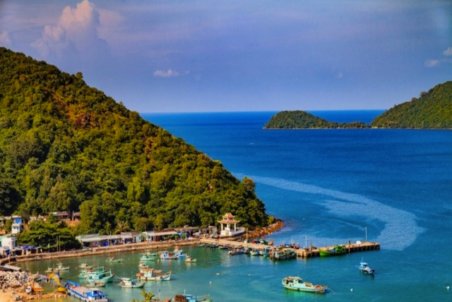 Bãi Ngự - du lịch bụi Nam Du