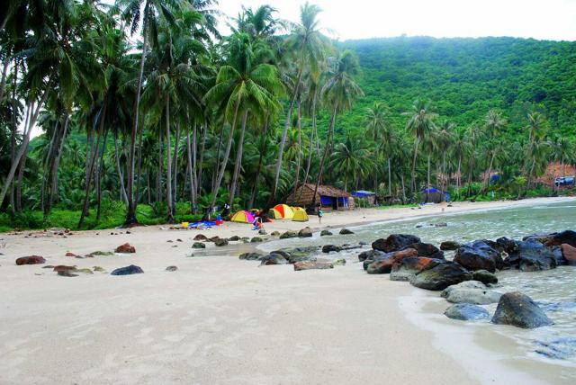 đảo Nam Du - du lịch bụi Nam Du 6
