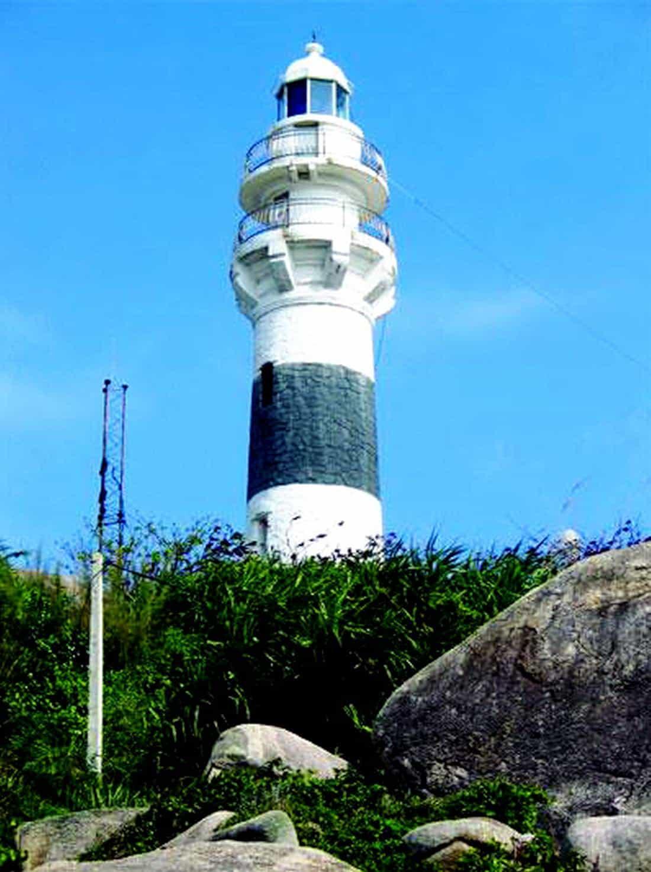 Hải đăng cù Lao Xanh biển Quy Nhơn