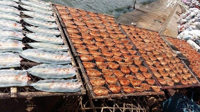 hải sản hấp dẫn - Tour Nam Du 3 ngày 2 đêm