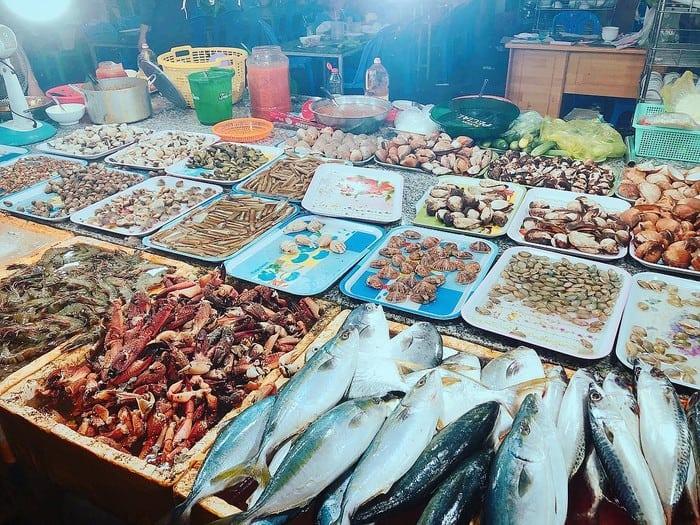 Thành phố biển Vũng Tàu hải sản nhiều vô cùng (ảnh ST)