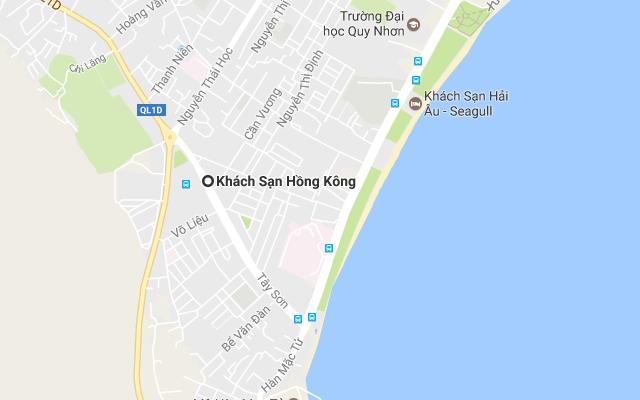Khách sạn Quy Nhơn giá rẻ - Bản đề Hong Kong Hotel