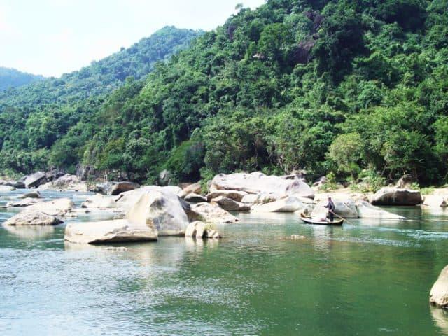 thác nước tại Quy Nhơn