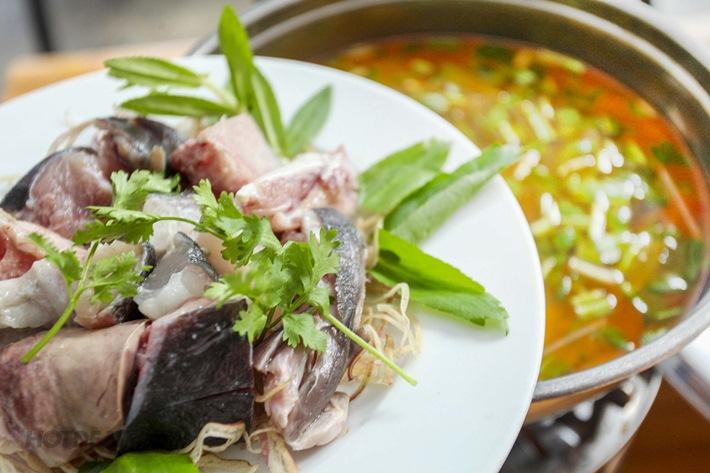 Lẩu cá bóp - Tour Nam Du 3 ngày 2 đêm