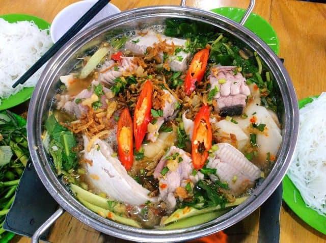 Món lẩu cá đuối nổi tiếng ở Vũng Tàu (ảnh ST)