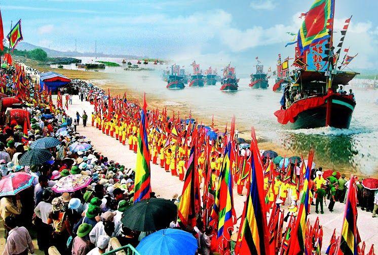 Lễ hội tại chùa Côn Sơn