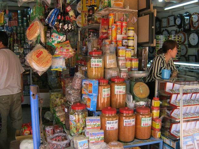 Đặc sản Tây Ninh ở chợ Long Hoa Tây Ninh