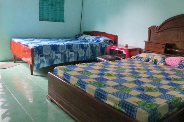Phòng ở nhà nghỉ Thúy Kiệp, một nhà nghỉ Nam Du giá rẻ