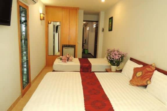 phòng ngủ khách sạn Sao Nam