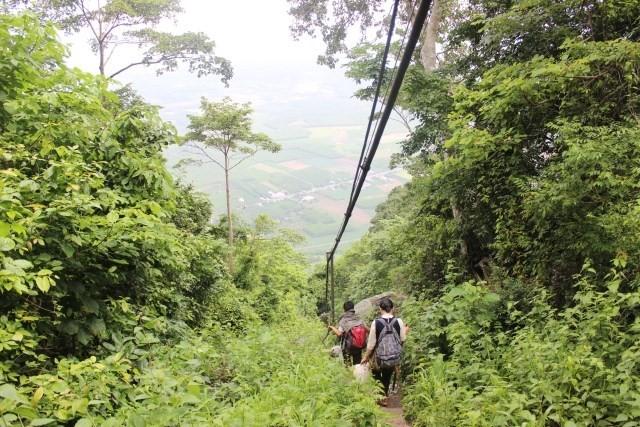 phượt núi Bà Đen