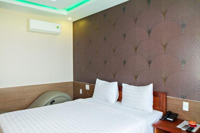 phòng ngủ khách sạn Alo