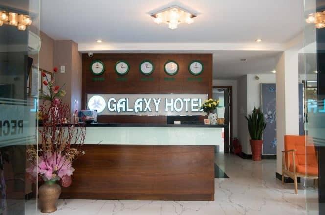 sảnh Galaxy Hotel