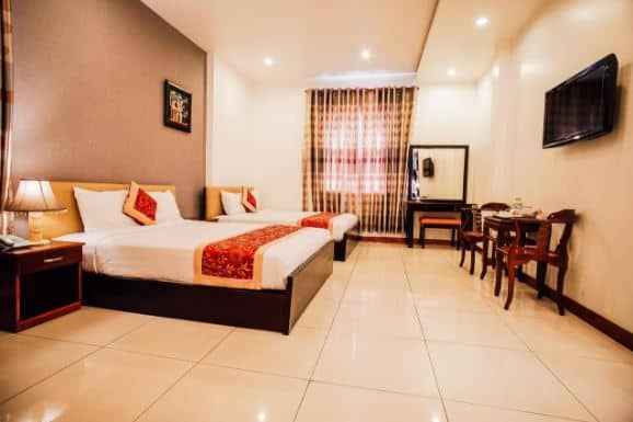 phòng ngủ khách sạn Sunflower